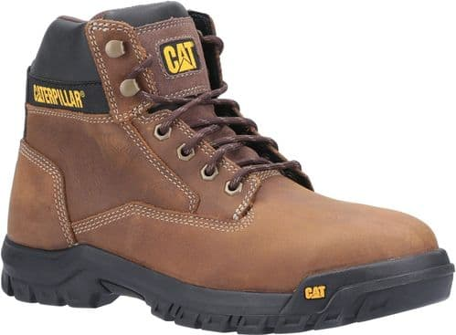 Caterpillar Median S3 Boots Safety Brown